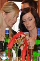 Die jungen Damen hatten sich zum Maiball besonders hübsch gemacht. (Foto: Reiner Züll)