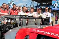Felix Baumgartner und sein Team. Bild: Reiner Züll