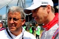 Frank Stippler (rechts) im Gespräch mit Ernst Moser. Bild: Reiner Züll
