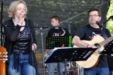 """Die Band """"blass4night"""" spielte am Mittag auf der Hilfsgruppen-Bühne. (Foto: Reiner Züll)"""
