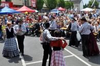 """Die Westerntanzgruppe """"Silverado Dancers"""" begeisterten das Publikum. (Foto: Reiner Züll)"""