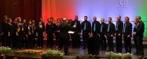 """Der Kammerchor Schleiden wurde in Arnsberg erneut mit dem Titel """"Meisterchor"""" ausgezeichnet. Bild: Michael Gornig"""