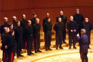 Der Don Kosaken Chor Serge Jaroff konzertiert in der Basilika Steinfeld. Bild: Veranstalter