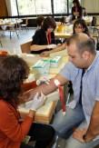 30 Ärzte und Arzthelferinnen waren zum Blutabnehmen im Einsatz. (Foto: Reiner Züll)