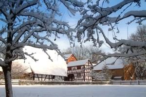 Das LVR-Freilichtmuseum Kommern hat 365 Tage im Jahr geöffnet. Bild: Michael Thalken/Eifeler Presse Agentur/epa