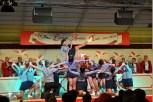 Die vereinseigene Showtanzgruppe zeigte akkrobatische Tanzdarbietungen. (Foto: Reiner Züll)