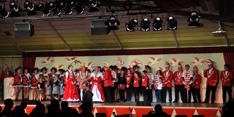 Die Morhahne aus Herrhahn-Morsbach erschienen ebenfalls mit einer großen Delegation. (Foto: Reiner Züll)