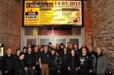 Der Sicherheitsdienst um Ralf Metternich (Mitte mit Willi Greuel) half auch in diesem Jahr ehrenamtloch mit 30 Personen. Foto: Reiner Züll