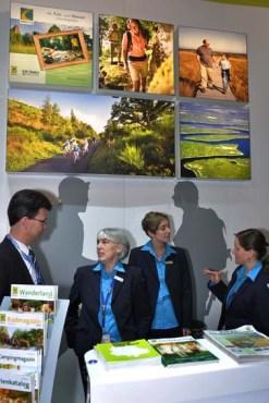 Die Eifel Tourismus GmbH warb auf der weltweit größten Reisemesse in Berlin mit tollen Eifel-Fotos. Foto: Reiner Züll