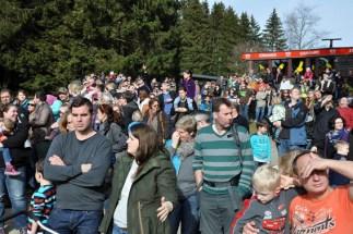Viele Besucher