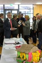 KSK Stiftungsabend Tisch