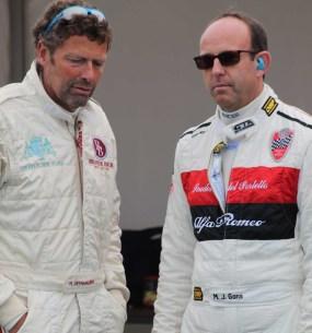 Marcus Graf von Oeynhausen (links) hatte Glück im Unglück. Nach einem heftigen Unfall blieb er unverletzt. Foto: Reiner Züll
