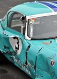 Das wird teuer: Der zerstörte Jaguar des Bad Driburger Grafen Marcus von Oeynhausen. Foto: Reiner Züll