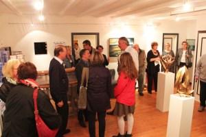 Das Kunsthaus Nordtor in Kronenburg lädt zur elften Ausstellung ein. Bild: Martin Schöddert/Freies Forum Kronenburg e.V