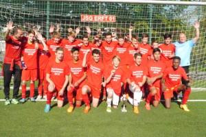 Bei den C-Junioren siegte der TSC über den SC Germania Erftstadt Lechenich mit 2:1 nach Verlängerung. Bild: Michael Kratz/FVM