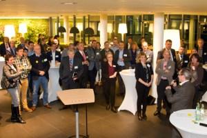 Unternehmer, Existenzgründer und Berater trafen zu der Startveranstaltung der jüngsten Runde des Wettbewerbs AC² aufeinander. Bild: Tameer Gunnar Eden/Eifeler Presse Agentur/epa