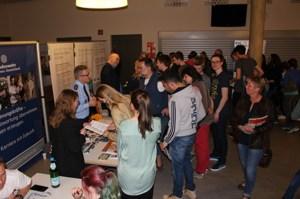 Das Interesse der Schüler an den Möglichkeiten im Dualen Studium war groß. Foto: Kreis Euskirchen