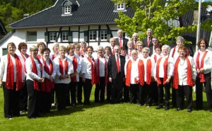 Die Singgemeinschaft Schleidener Tal lädt zum Herbstkonzert ein. Bild: SST