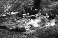 Im zentralen Hochland von Korsika schliefen die Pfadfinder zeitweise im Freien. Repro: Reiner Züll