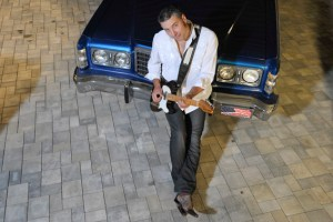 Blues-Gitarrist Roberto Morbioli gastiert in Euskirchen. Bild: Morbioli