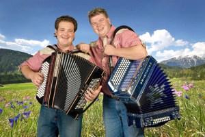 """Das Duo """"Alpensterne"""" gastiert in Frohngau. Bild: Privat"""