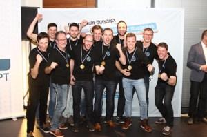 Die Volleyball-Herren des TV Stotzheim landeten auf Platz 1 bei den Mannschaften. Bild: Tameer Gunnar Eden/Eifeler Presse Agentur/epa