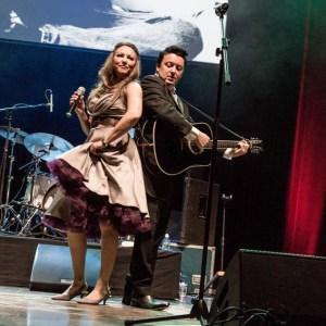 """Country-Fans aufgepasst: Die """"Johnny Cash Roadshow"""" gastiert auf der Burg-Bühne. Foto: Veranstalter"""