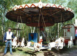 Das Karussell wurde 1925 im thüringischen Neustadt an der Orla gebaut. Foto: LVR-FMK