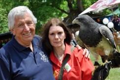 atte einen Vogel: Hilfsgruppen-Vorsitzender Willi Greuel. Foto: Reiner Züll