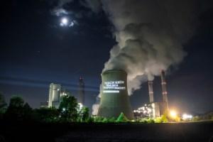 Das Kohle-Kraftwerk in Weisweiler ist laut Oliver Krischer das Fünftschmutzigste in ganz Europa. Foto: Die Grünen Kreis Düren