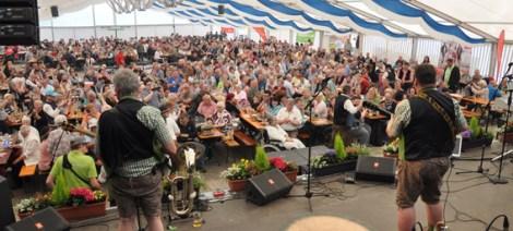 Die Schmalzler selbst standen an allen drei Tagen auf der Bühne. Foto: Reiner Züll