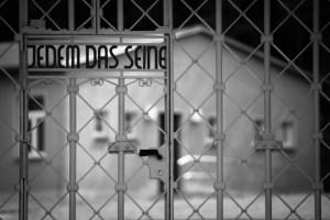 Iris Hilgers zeigt ihre Bilder uas Buchenwald. Bild: Iris Hilgers