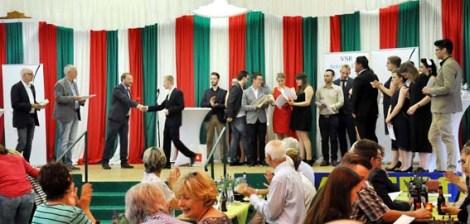 Lossprechungsfeier der Azubis im Gastgewerbe iin derr Bürgerhalle in Vettweiß-Disternich. Foto: Reiner Züll