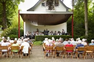 Ab Ostersonntag geht es im Kurpark Gemünd wieder musikalisch zu. Bild: Kerstin Wielspütz