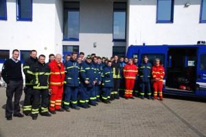 Gemeinsam absolvierten die Rettungskräfte eine Funkausbildung. Bild: Florian Sommer/THW