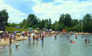 Der eintrittsgeldpflichtige Seepark Zülpich bietet verschiedene Attraktionen. Foto: Seepark Zülpich