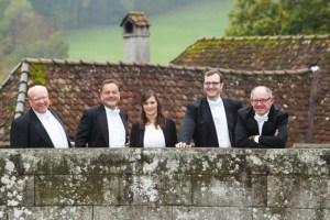 Die fünf Musiker von Harmonic Brass werden eneut in Billig zum Scheunenkonzert erwartet. Bild: Veranstalter