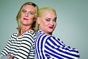 Cornelia Scheel (l.) und Hella von Sinnen sind beim Eifel-Literatur-Festival mit dabei. Foto: Martin Langhorst