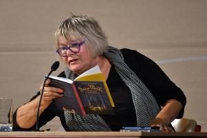Jutta Richter las auf dem Eifel Literatur Festival aus ihrem neuen Buch.  Bild: Harald Tittel/ELF