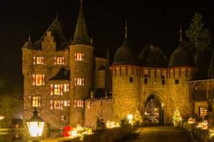 Weihnachten auf Burg Satzvey. Bild: Mike Göhre
