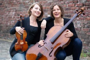 """Das Duo """"con moto"""" will in Gemünd Stücke von Beethoven bis Schulhoff spielen. Foto: Veranstalter"""