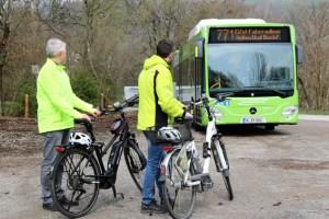 Mit dem neuen Eifel-Fahrradbus ergeben sich noch mehr Möglichkeiten der Freizeitgestaltung. Bild: Nordeifel Tourismus