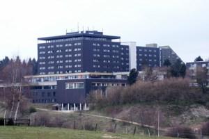Die Eifelhöhen-Klinik in Marmagen ist in finanzielle und hygienische Schieflage geraten. Archivbild: Michael Thalken/Eifeler Presse Agentur/epa