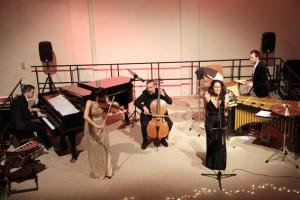 """Das Ensemble """"Emoción"""" sorgte in der Comedia mit viel Leidenschaft für einen gelungen Jahresausklang. Bild: Michael Thalken/Eifeler Presse Agentur/epa"""