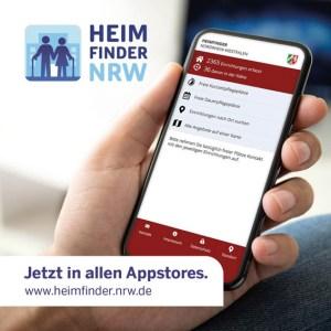 Per App oder über die neue Internetseite lassen sich NRW-weit freie Pflegeplätze finden. Foto: MAGS