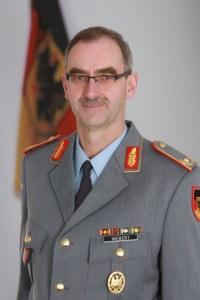 Brigadegeneral Peter Webert ist Kommandeur des Zentrums und Leiter des Geoinformationsdienstes der Bundeswehr. Bild: Bundeswehr