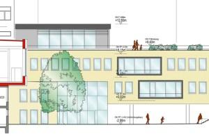 So stellen sich die Architekten das Gebäude nach dem dritten Bauabschnitt vor. Bild: Stadt Schleiden