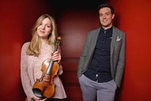 """Die Violinistin Judith Stapf und der Pianist Marco Sanna bestreiten das nächste Kammerkonzert in der Reihe """"KlangRaum Steinfeld"""". Foto: privat"""