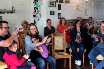 Das Publikum in Golbach zeigte sich dankbar und spendenfreudig. 1550 Euro wanderten in den Spendentopf. Foto: Reiner Züll