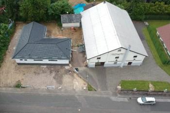 Die Arbeiten am Dorfsaal in Dreiborn sollen im Laufe des nächsten Jahres fertiggestellt sein. Bild: Manfred Steffen